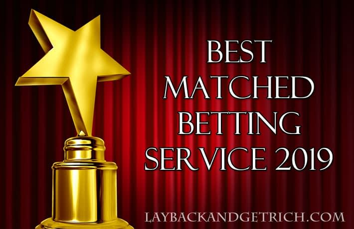 2019 Betting System Oscars: Best Matched Betting Service
